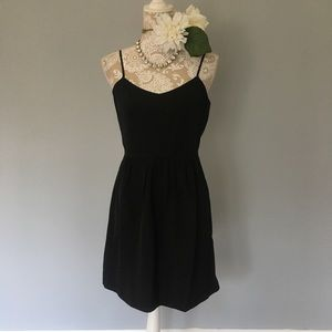 J. Crew // Factory NWT Black Cami Dress